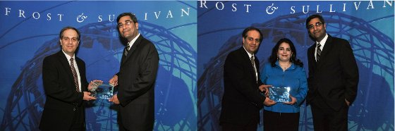 Frost and Sullivan Award for New Product Innovation in Speaker Verification Biometrics