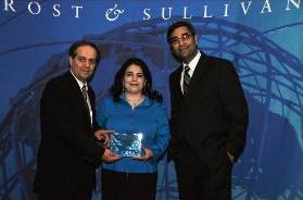 Frost and Sullivan Award for New Product Innovation in Speaker Verification Biometrics